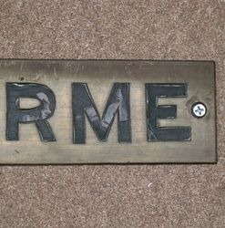 Genuine House Name Plate andquotELORMEandquot