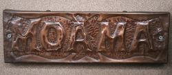 "Genuine House Name Plate. ""MOAMA"" #"