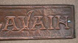 Genuine House Name Plate andquotLILGLAVAINandquot