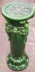 Victorian Majolica Jardiniere C1880
