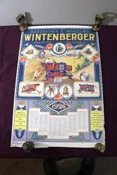 Farming Poster.. 1926 Wintenberger Calendar-Poster. #