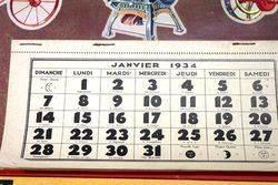 Farming Poster  1934 Albion CalendarPoster