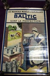 Farming Poster Antique Baltic Pictorial Poster