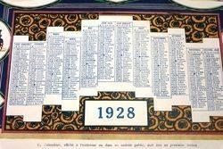 Farming Poster  1928 Wintenburger CalendarPoster