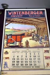 Farming Poster  1930  Wintenburger CalendarPoster