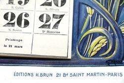 Farming Poster1926 Albion Pictorial CalendarPoster