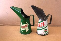 ARRIVING NOV  CASTROL MOTOR OIL TINS