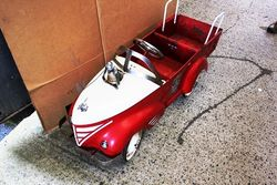 ARRIVING NOV  PEDAL CARS and TOYS