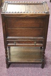 1930's Oak Sewing Box #