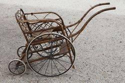Antique Victorian Bath Chair#