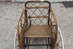 Antique Victorian Bath Chair