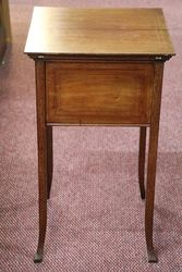 Mahogany Edwardian Sewing Box