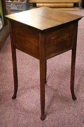 Mahogany Edwardian Sewing Box
