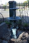 Small Cast Iron Heron Fountain
