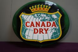 Canada Dry Advertising Sign  #