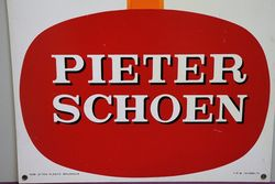 VerfLak Pieter Schoen Tin Advertising Sign