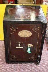 Antique J Cartwright Metal Safe. #