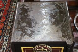 Antique John Tann andquotLondonandquot Metal Safe
