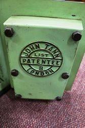 Antique John Tann andquotLondonandquot Metal Safe
