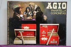 Agio Panatella Coronitas Tin Advertising Shop Sign #