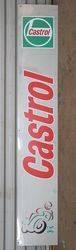 Castrol Plastic Strip Advertising Sign #