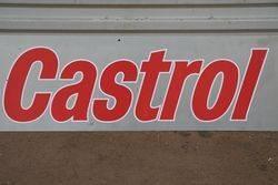 Castrol Plastic Advertising Sign