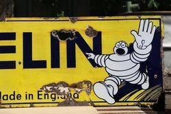 Michelin Tyres Enamel Advertising Sign