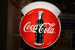 Coca Cola Double Sided Advertising Lightbox. #