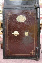 Antique J Cartwright Metal Safe #