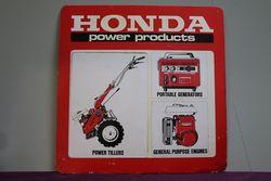 Honda Double Sided Advertising Sign