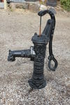 Cast Iron  French Style D Handle Village Pump