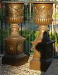 Versailles Cast Iron Urn And Base