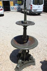 Cast Iron 2 Tier Dolphin Base Fountain.