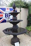 Cast Iron 3 Tier Granada Fountain.
