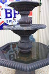 Cast Iron 3 Tier Somerset Fountain