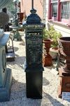 Cast Iron Post----Letter Box on Metal Stand