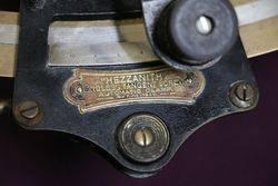 Hezzanith Sextant By Heath + Co Ltd London Test Certificate for 1922
