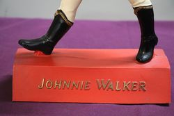 A Composite Johnnie Walker Pub Advertising Figure Loverly Condition