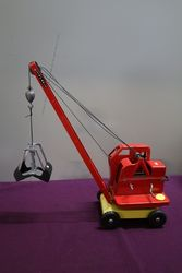 Priestman Grab Tri-ang  Tin Plate Crane  #