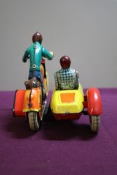 Russian Made Bike + Sidecar Original Box