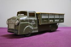 Tin Plate Royal Artillery Truck In Original Condition