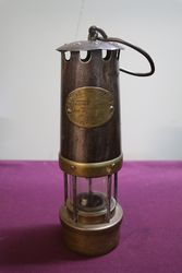 E.Thomas And Williams Type 35 Miners Lamp #