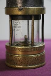 Early Brass + Metal Miners Lamp