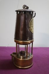 Eccles Protector Type SL No25 Miners Lamp