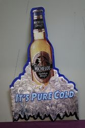 Michelob Beer Tin Advertising Sign #
