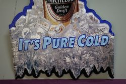 Michelob Beer Tin Advertising Sign