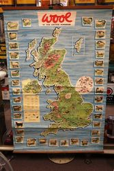 WOOL in the United Kingdom Advertising Poster