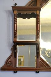 mahogany wall mirror