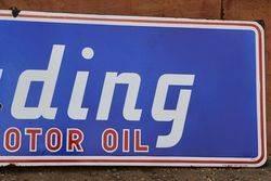 Trading Motor Oil Enamel Advertising Sign