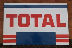 Total Enamel Advertising Sign